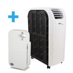 Klimatyzator przenośny Fral SuperCool FSC 14.1 WiFi Ready + Oczyszczacz powietrza Invierno Ion