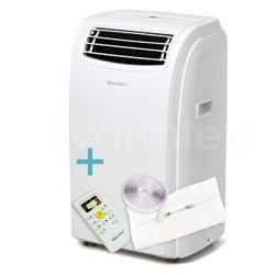 Klimatyzator przenośny Warmtec KP35W + Uszczelnienie okna