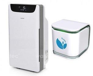 Oczyszczacz powietrza Warmtec AP168W + EcoLife Air Sensor